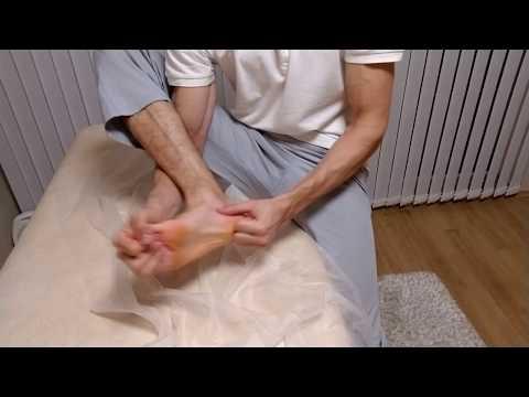 Самомассаж стопы после перелома