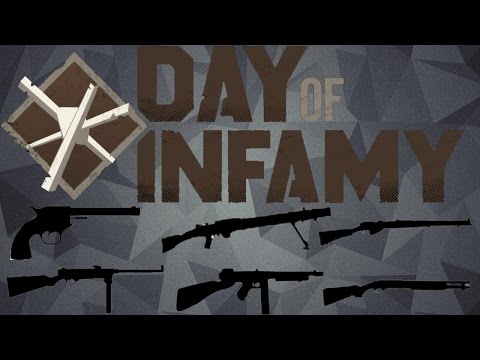 Day of Infamy - All Weapons Showcase