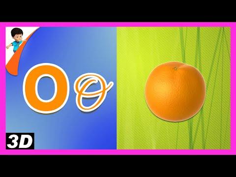 Learn Alphabet 'O' | Kids Education