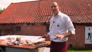 BBQ Brothers Cadac Meridian 4 & beef jerky (Trockenfleisch)