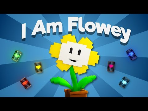 """I Am Flowey""   Undertale Minecraft Music Video (Song by TryHardNinja)"