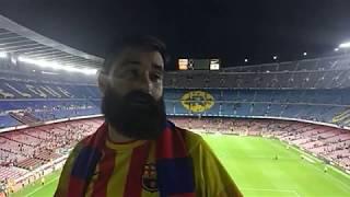 FC Barcelona 2 - Málaga 0 Desde el Camp Nou viendo a un equipo muy sólido. Michel malagón