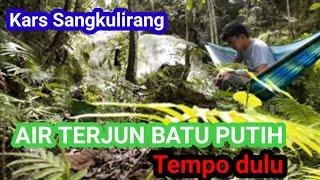 preview picture of video '#Bushcraftindonesia |Hammoock | Air terjun batu putih. Sangkulirang , kaliorang , kaubun'