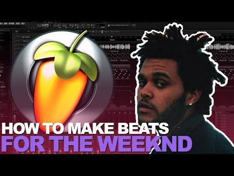 MAKING A BEAT FOR THE WEEKND IN FL STUDIO | COUNTACH