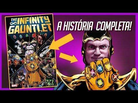 A HQ completa: Infinity Gauntlet - DESAFIO INFINITO (e além) | Heroicamente Explicado | Episódio #31