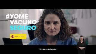 """""""#Yomevacunoseguro_Enfermera"""", de Contrapunto BBDO para Ministerio de Sanidad Trailer"""