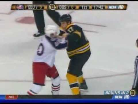 Jared Boll vs Milan Lucic