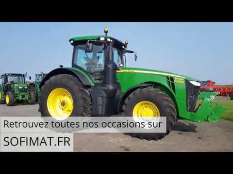 Tracteur JOHN DEERE 8320R N° 126434 (2017)