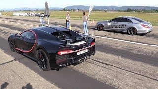 900HP BRABUS Mercedes CLS63 S La-Performance - BRUTAL Sounds & Drag Racing!