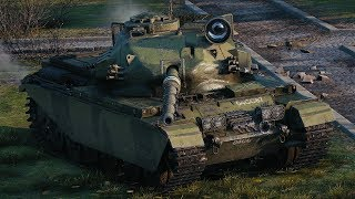 World of Tanks Centurion Action X - 4 Kills 10,2K Damage