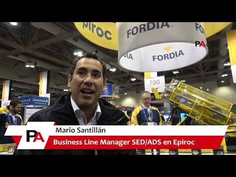 PDAC 2019: Entrevista a Mario Santillán de EPIROC