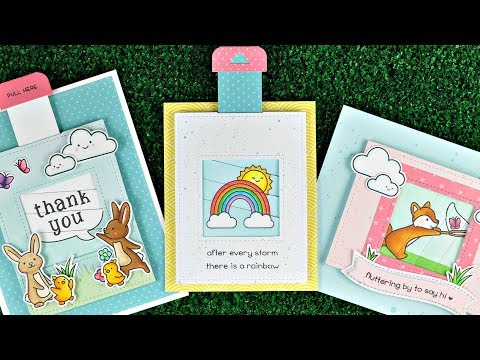 Lawn Fawn – Be Hap-Pea Magic Picture Changer