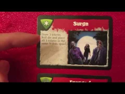 Event Cards in Dead Panic (FiresideGames)
