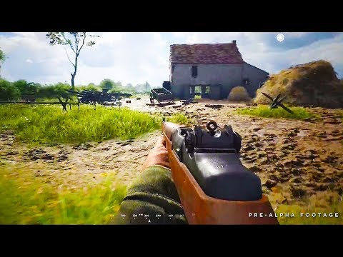 HELL LET LOOSE 11 Minutes Gameplay Demo (New World War 2 FPS Game 2018)
