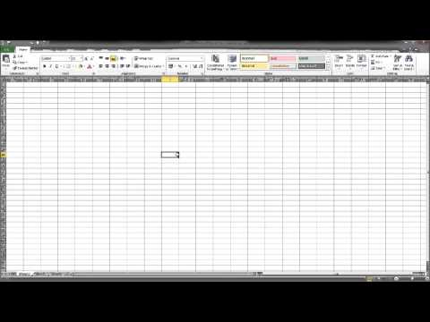 Learn Microsoft Excel - Free Excel Tutorial Part 1 - YouTube
