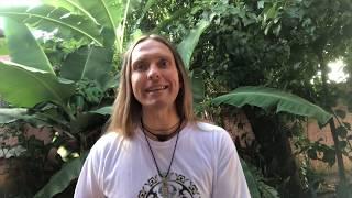 Stefan spricht über Schamanismus