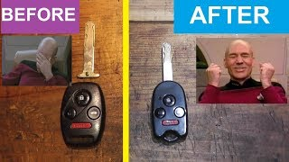 How To Fix A Broken Key Fob In 4 Minutes!