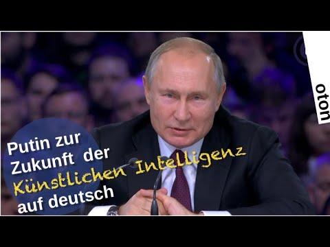 Putin zur Zukunft der Künstlichen Intelligenz auf deutsch [Video]