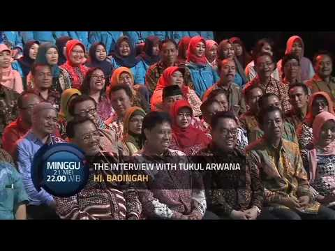 Wawancara Tukul Arwana dengan Hj. Badingah (Bupati Gunungkidul)