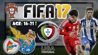 FIFA 17: BEST TALENTS TO SIGN FROM PRIMEIRA LIGA (Portuguese League)