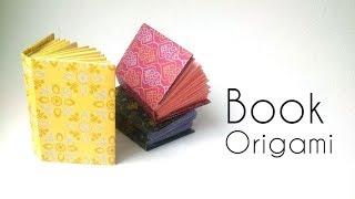Mini Origami Book - Easy Tutorial