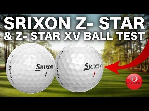 SRIXON Z-STAR & Z-STAR XV GOLF BALLS