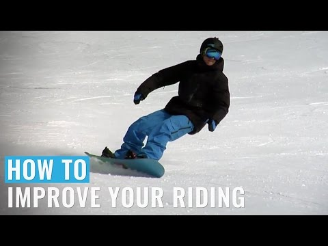 How to improve your snowboarding