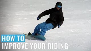 Gambar cover How To Improve Your Riding On A Snowboard