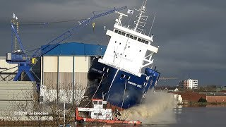 Launch of the Symphony Space at Ferus Smit shipyard (Leer, Germany)