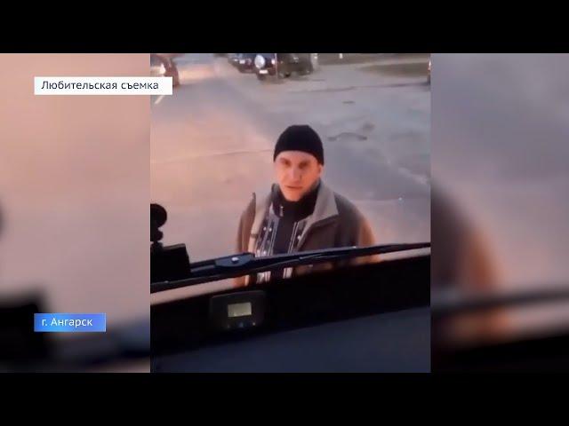 Ангарчанин блокировал работу общественного транспорта