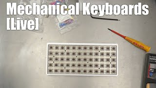 [Livestream] Mechanical Keyboards Live! - How to Preonic build from Ortholinear keyboards & Massdrop