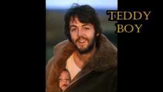 Paul McCartney Teddy Boy (subtitulado en español)