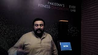 Babar Mehmood, an owner of a flour mill, emotionally explains the impact that the Fit3D test