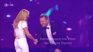 Helene Fischer und Elton 😂😂😂