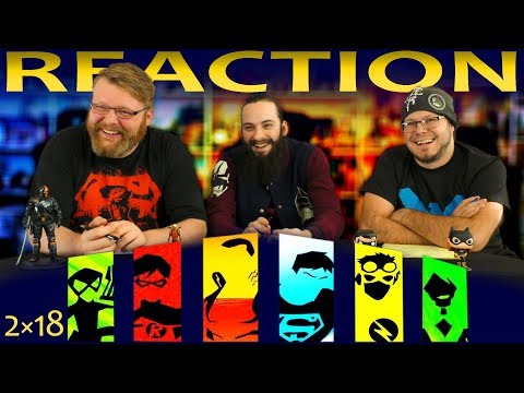 Young Justice 2x18 REACTION!!