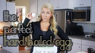 how to make hard boiled eggs in a muffin pan