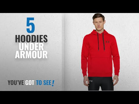 Top 10 Hoodies Under Armour [2018]: Under Armour Men's Rival Fitted Warm Up Pullover Top