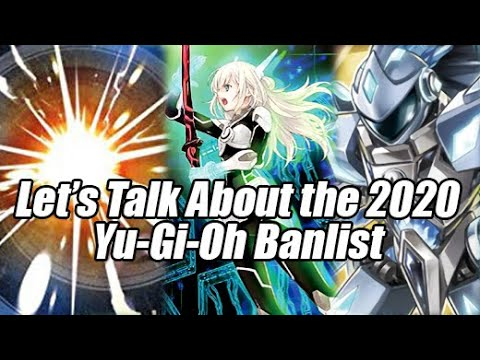 Let's Talk About The 2020 Yu-Gi-Oh Banlist