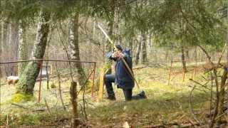 preview picture of video 'Bogenparcours Hellenthal-Hönningen - Die Bogenwerkstatt'