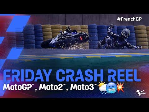 クラッシュ動画 MotoGP 2021 第5戦フランス