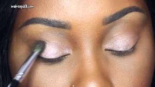 MakeupD0ll: Quick Eyeshadow for Makeup Beginners using Benefit Cosmetics Roller Lash Mascara!