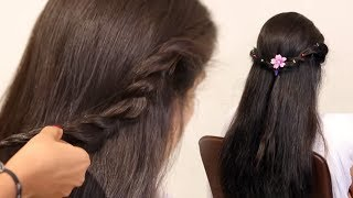 Easy Prom Ponytail Hairstyle For Bride In Wedding   Fancy Half Wedding Up-Down Hairstyles Tutorials