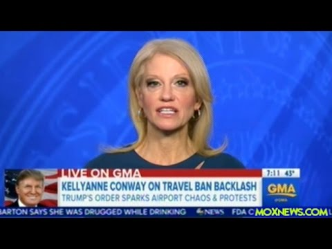 Kellyanne Conway BLASTS The Protesters! The Democrats ! And The Republicans!