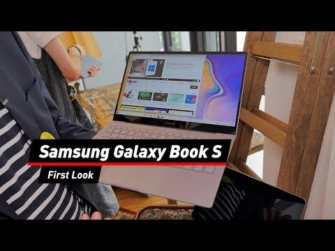 Galaxy Book S: Ultrabook mit Windows 10 und LTE von Samsung