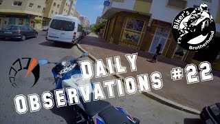 Daily Observations #22  S1000rr || Crash Z1000 || Breizh