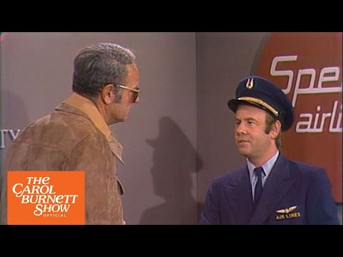 Airline Security From the Carol Burnett Show (Full Sketch)