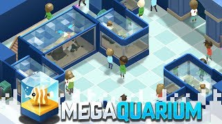 MEGAQUARIUM - Run Your Own Aquarium! (Gameplay Video)