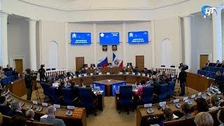 Депутаты областной думы обсудили прямые выборы мэра Великого Новгорода, распределение финансов и льготные лекарства