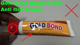 ✅  How To Use Gold Bond Rapid Relief Anti Itch Cream Review
