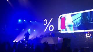 Guè Pequeno 2% (Feat Frah Quintale) Live @Mediolanum Forum